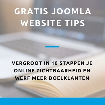 gratis joomla tips website optimalisatie